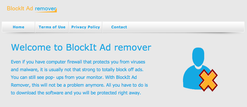 You can remove BlockIt Ad from your computer