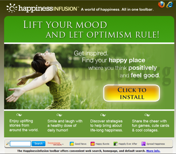 You can remove HappinessInfusion from your computer