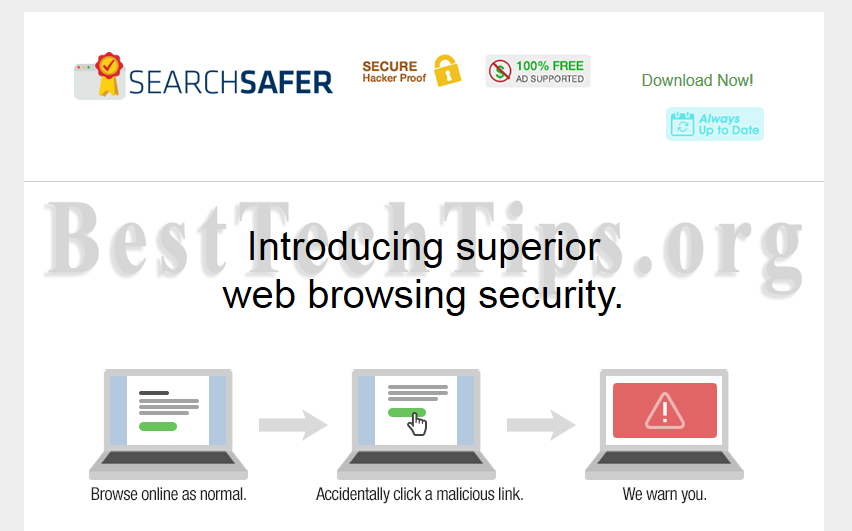 You can remove Search Safer from your computer