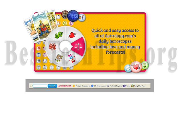 Method to remove Astrology.com Toolbar