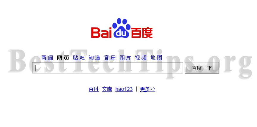 remove Baidu.com