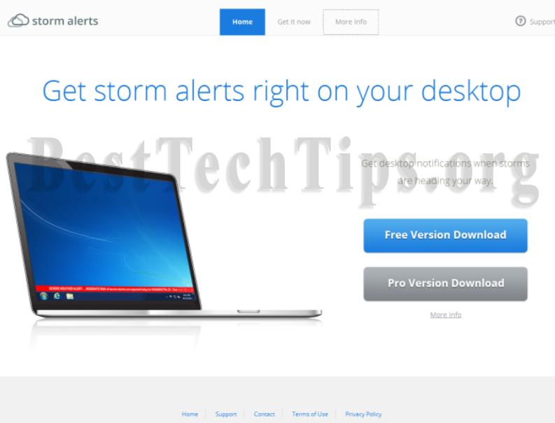 remove Storm Alerts