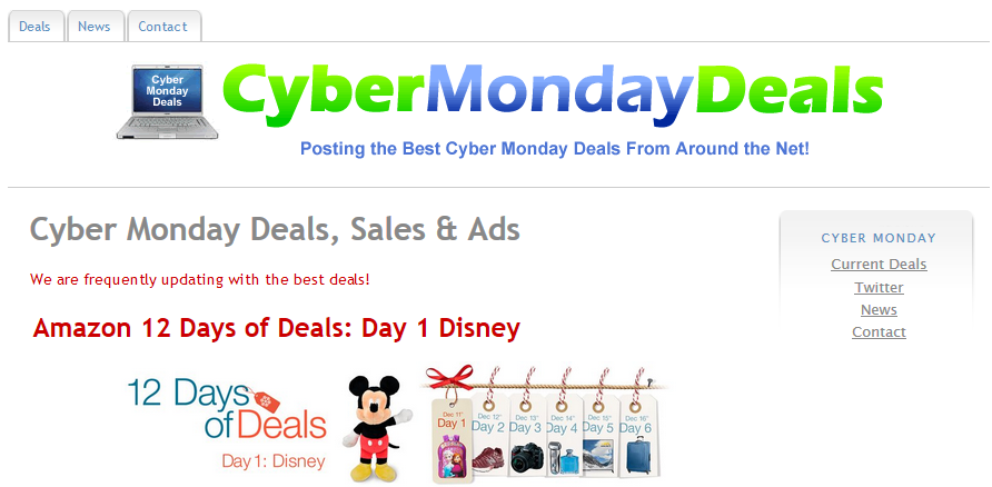 You can remove Cyber Monday Deals from your computer