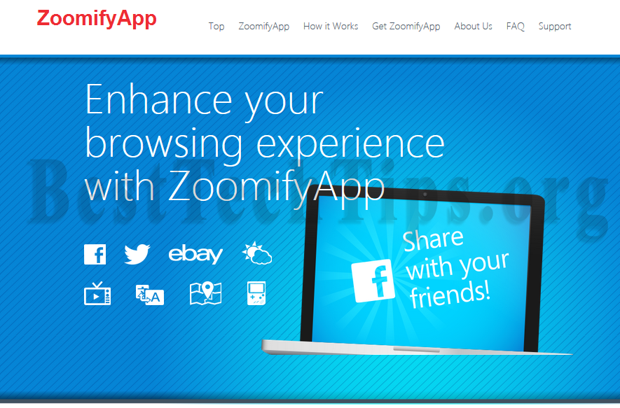 You can remove ZoomifyApp from your computer