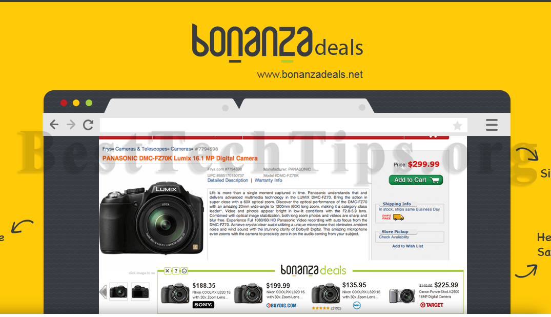 Get rid of Bonanza deals