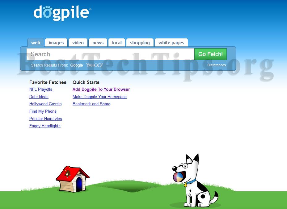 Get rid of DogPile Toolbar