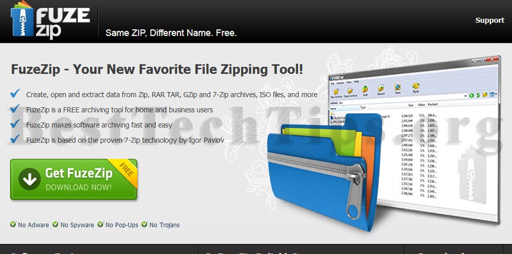 Get rid of FuzeZip