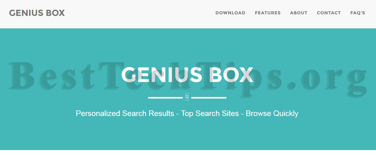 Get rid of GeniusBox