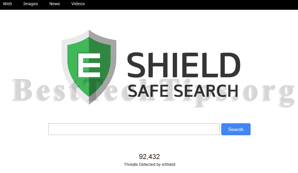 Get rid of search.eshield.com