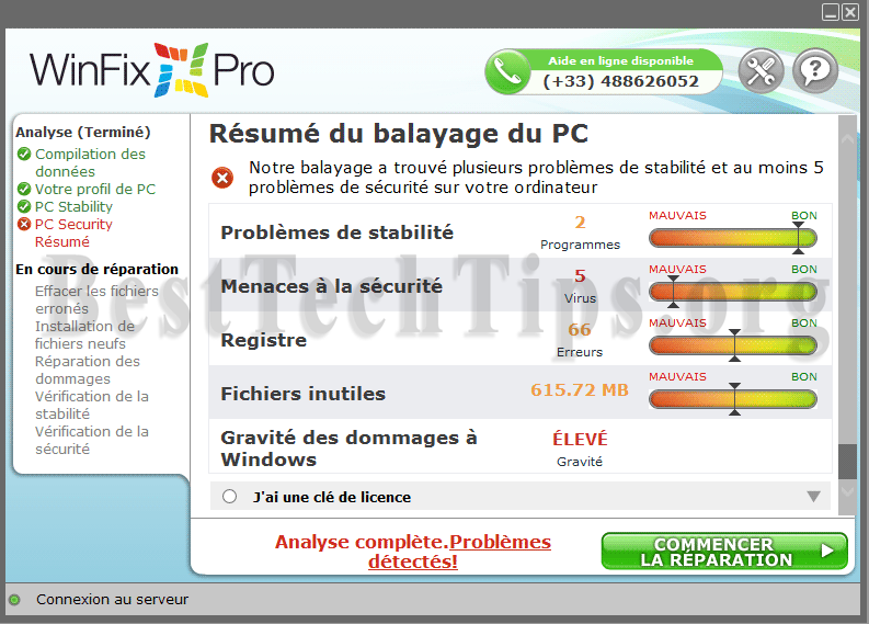 Get rid of WinFix Pro