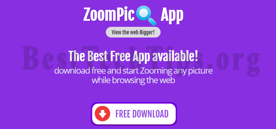 You can remove ZoomPic from your computer