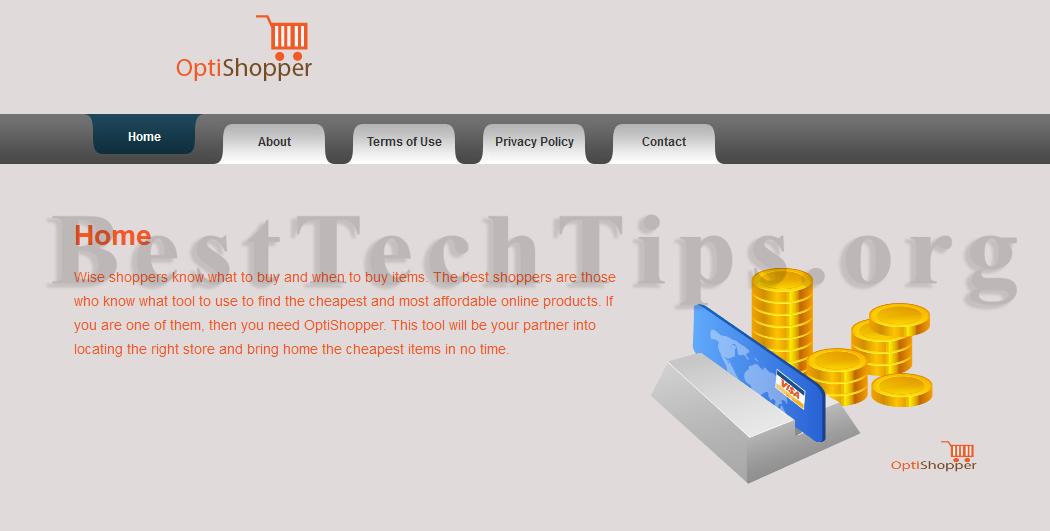 Get rid of OptiShopper