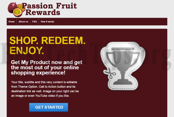 Get rid of Passion Fruit Rewards
