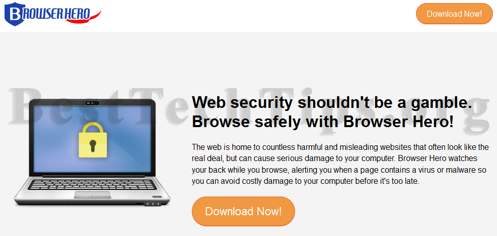 Get rid of Browser Hero
