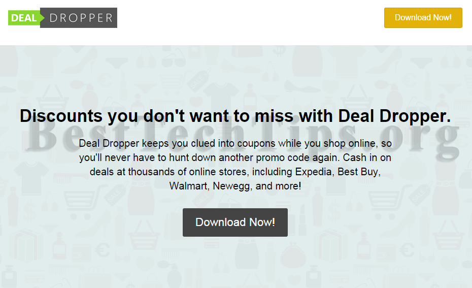 Get rid of Deal Dropper