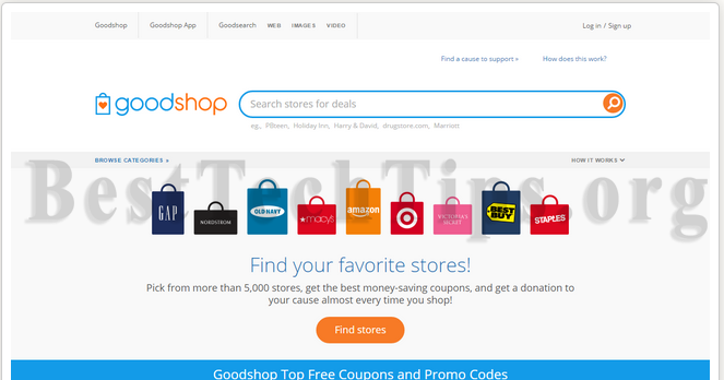 Get rid of Goodshop