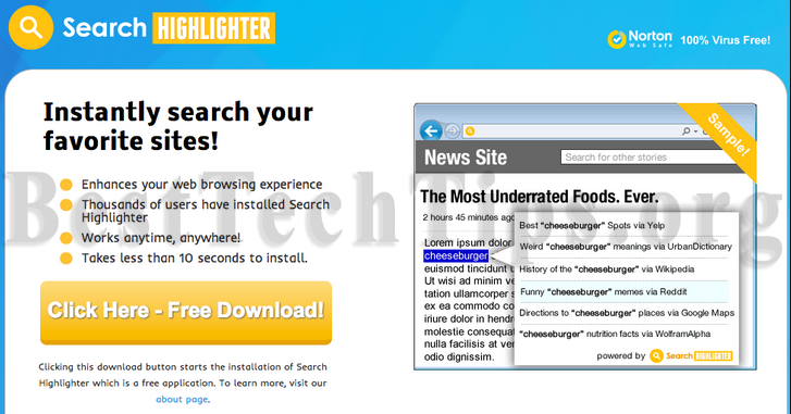Get rid of Search Highlighter