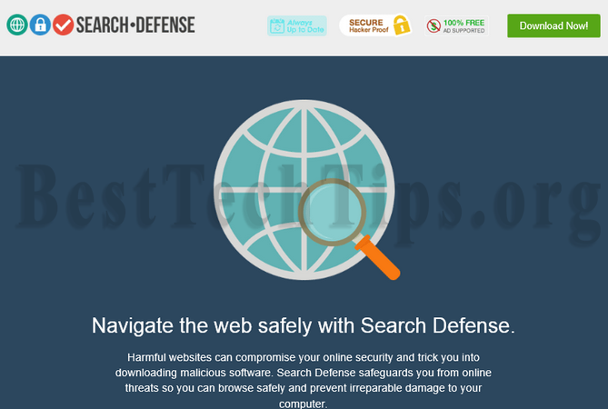 Get rid of Search Defense
