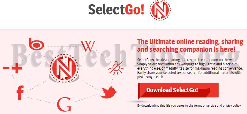 Get rid of Selectgo.net