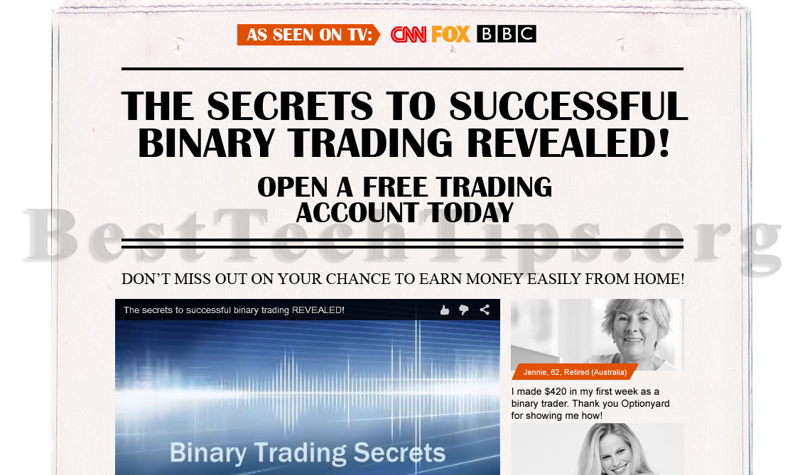 Get rid of Binary500.com