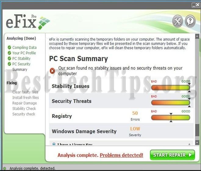 Get rid of eFix Pro