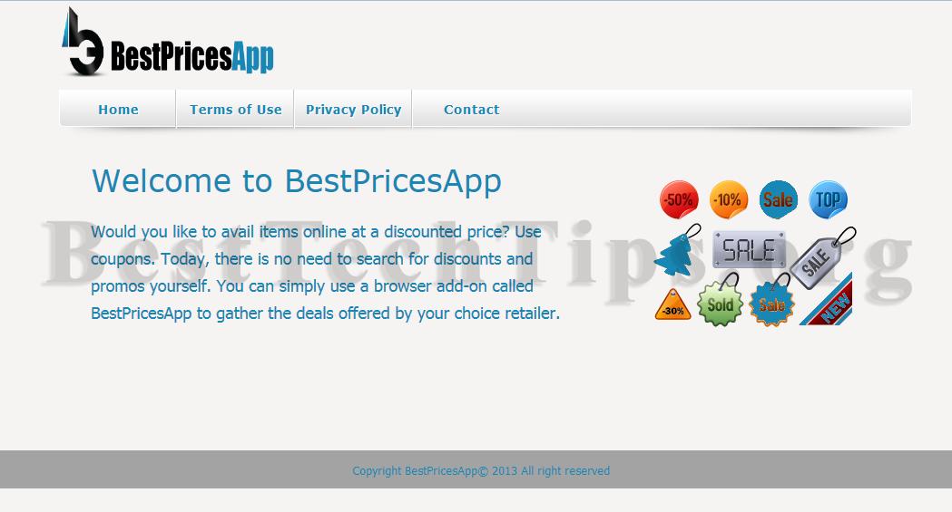 Get rid of BestPricesApp