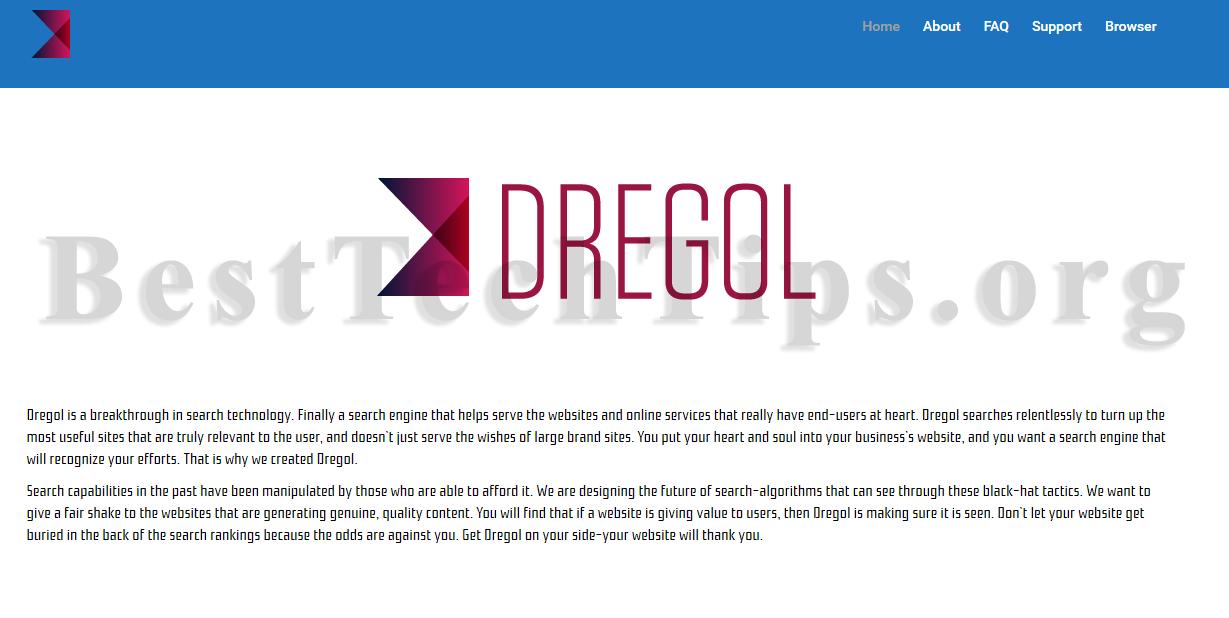 Get rid of dregol.com