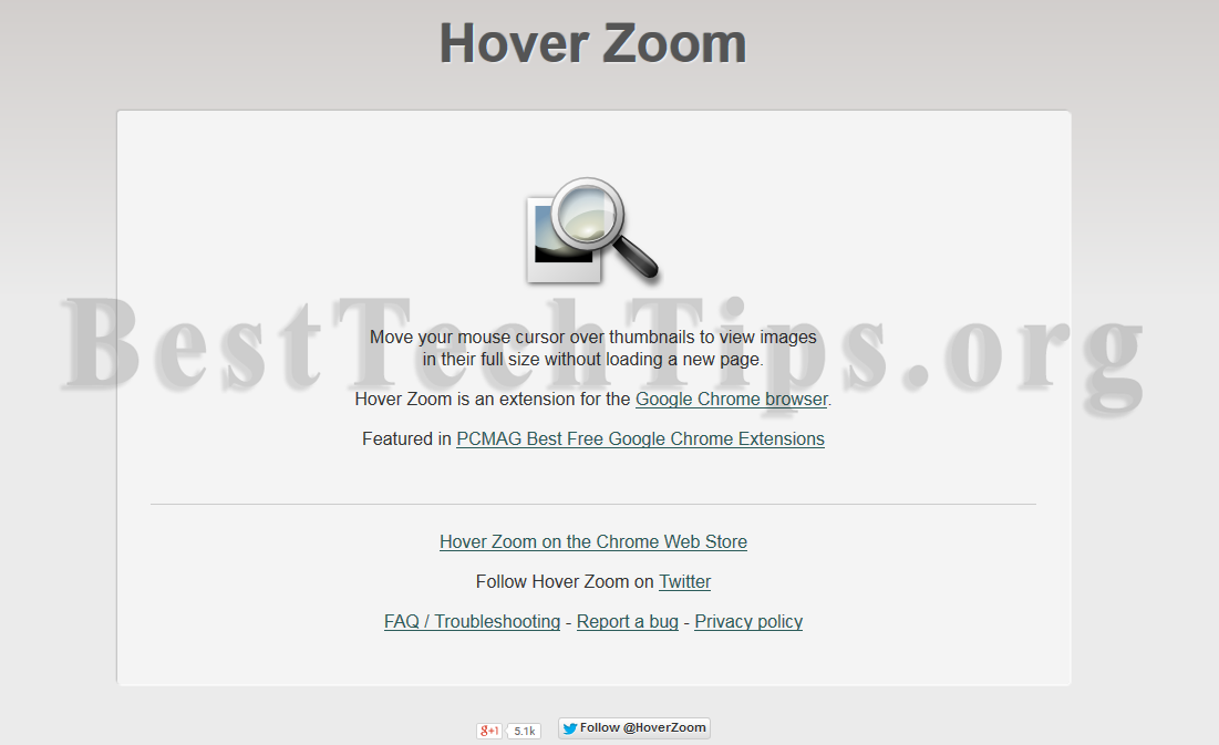 Get rid of Hover Zoom
