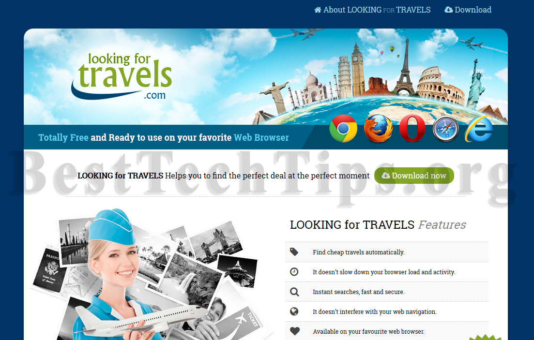 Get rid of LookingForTravels