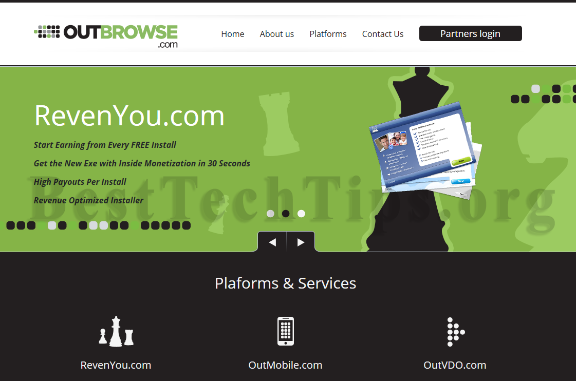 Get rid of OutBrowse