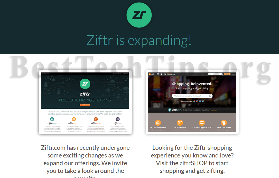 Get rid of Ziftr