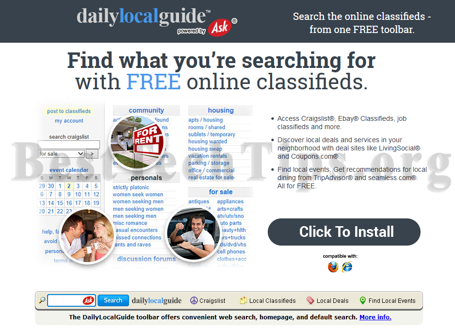 Get rid of DailyLocalGuide