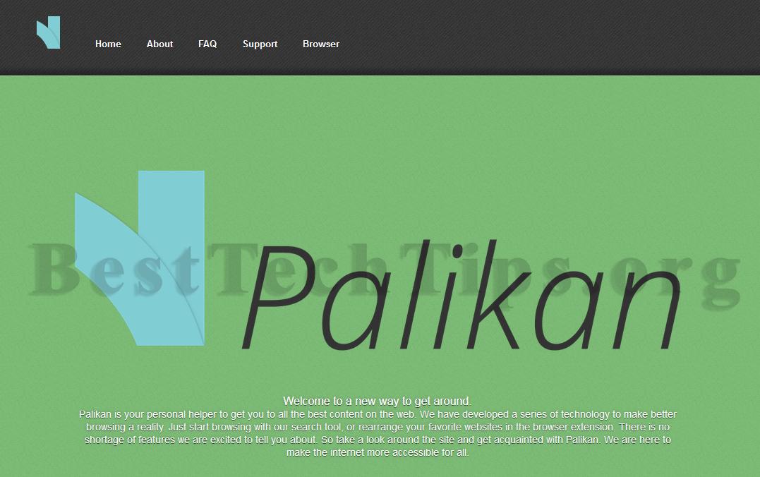 Get rid of palikan.com