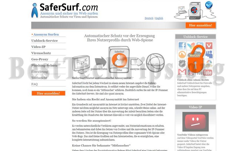 Get rid of SaferSurf