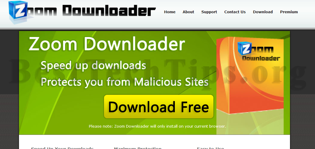 Get rid of Zoom Downloader