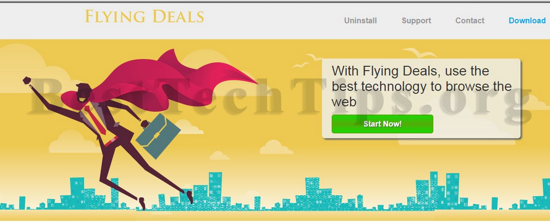 Get rid of Flying Deals