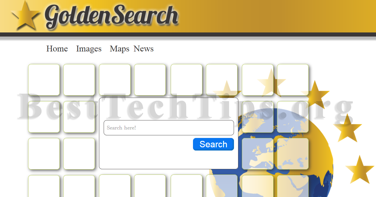 Get rid of Goldensearch.org