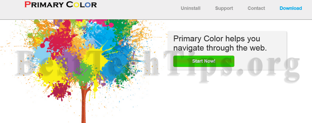 Way to remove Primary Color