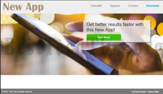 Get rid of New App