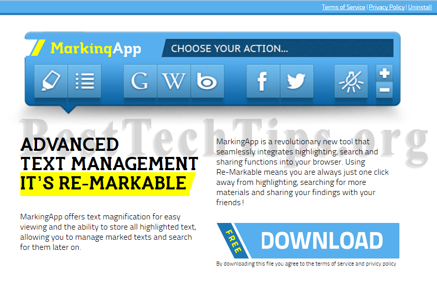 Get rid of MarkingApp