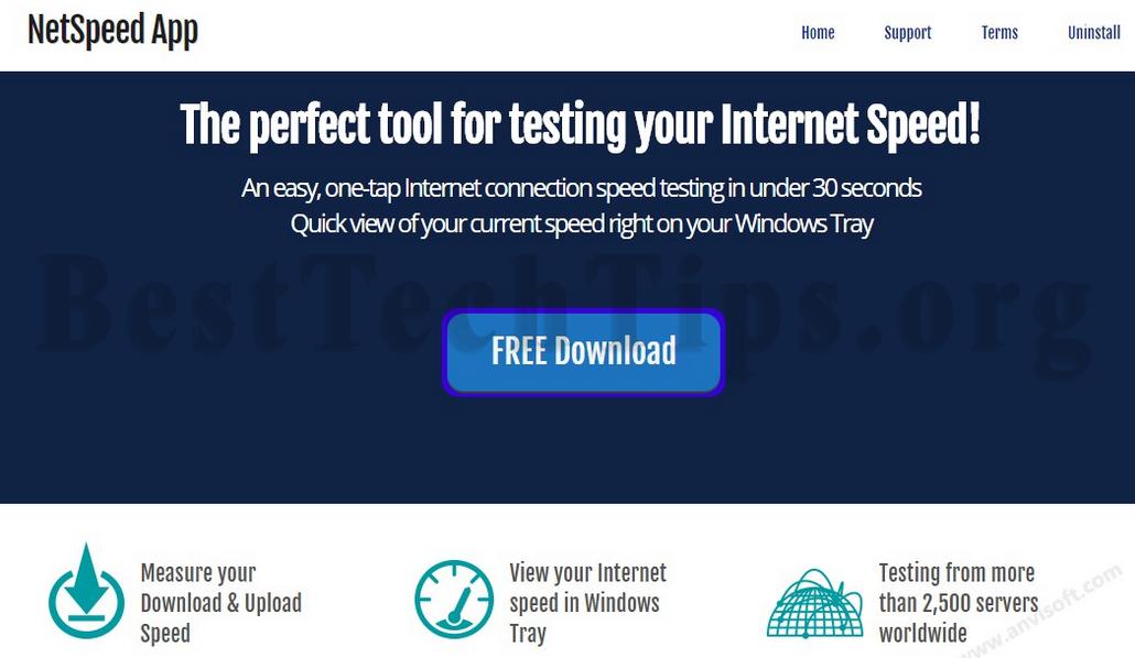 Get rid of NetSpeed App