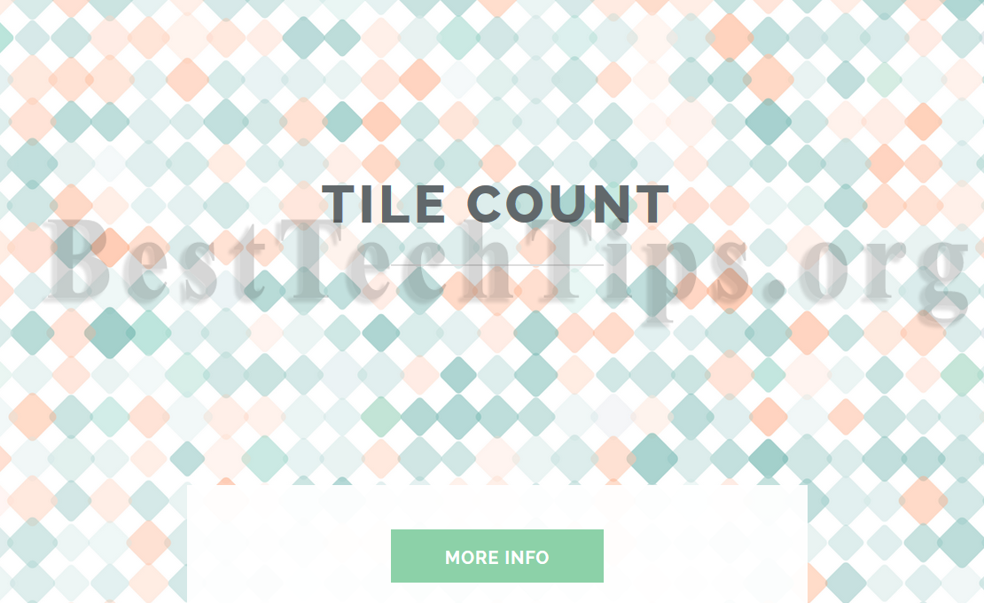 Get rid of Tile Count