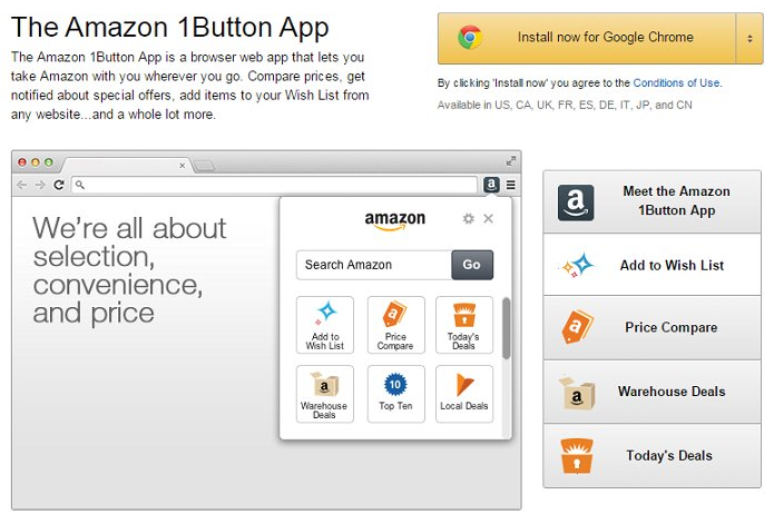 How To Remove Amazon 1button App From Browser And Computer