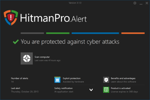 HitmanPro.Alert's CryptoGuard