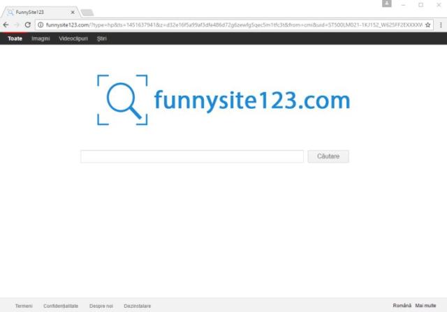 Funnysite123.com hijacker