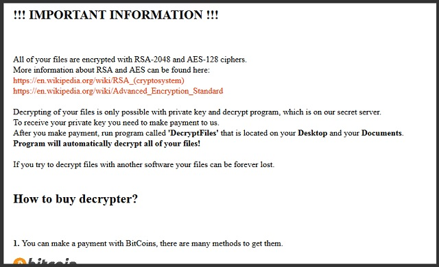 How to remove Marlboro Ransomware and decrypt  oops files