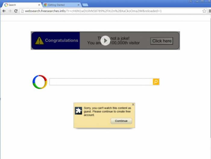Google redirect virus hijacker