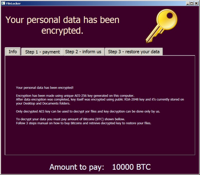 How to remove AutoEncryptor Ransomware and decrypt .encr files