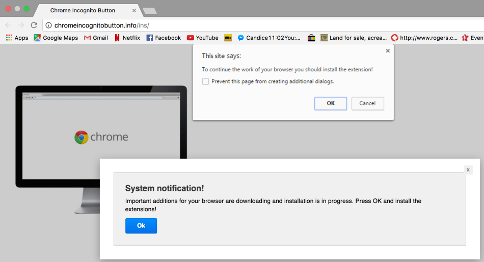 how to stop constant pop ups on chrome