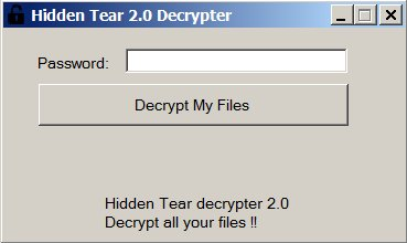 How to remove HiddenTear 2.0 ransomware and decrypt .isis files